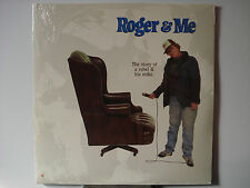 Roger & Me 1989 Comedic Documentary Laser Disc NEW WEA11978 Michael Moore