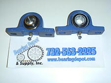 Salt Spreader Bearing Ucp205 16bt Grease Fitting On Bottom 2 Pieces