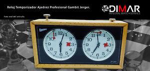 "Uhr Timer Profi Schach Gambit JERGER "" ,Mechanisch,Analog"