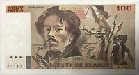 100 FRANCS DELACROIX (1994) H263 - Billet de banque français (TTB)