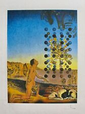 "SALVADOR DALI ""Dali Dali Dali"" Hand Signed Limited Edition Lithograph on Japon"