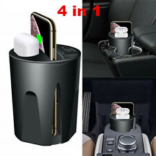 Cup Shape Qi 10W Wireless Car Fast Charger Mount Stand iPhone 8 X XR XS Max