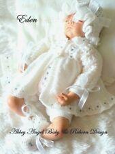 KNITTING PATTERN TO MAKE FOR BABY/REBORN GIRL  0-3 MONTHS (Eden)