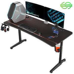 Eureka Gaming Captain Series GIP 60'' Computer Desk, Black