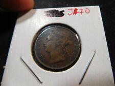 J170 British Straits Settlements 1873 1/4 Cent