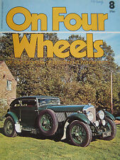On Four Wheels magazine Vol.1, Issue 8 featuring Bean cars