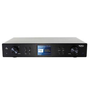 XORO Radio-Hi-Fi-Tuner HFT 440, DAB+/UKW/Internetradio, USB, Bluetooth, Spotify,