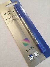 PARKER ROLLERBALL BLUE QUINK INK REFILL-FINE POINT-UK-NEW OLD STOCK