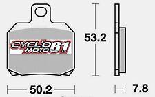 Plaquettes de frein arrière Scooter Suzuki UH 125 Burgman 2002 à 2006 (S1110)
