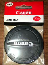 CANON ULTRASONIC LENS CAP SNAP ON E-77MM FRONT LENS COVER JAPAN  NEW