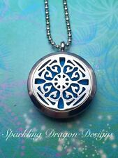 Aromatherapy Locket - Victorian - Essential Oil Necklace - Perfume Jewellery