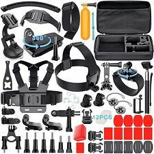 Leknes Accessories Kit for GoPro Hero 5 4 3+ 3 2 1 Hero Session Sports Camera