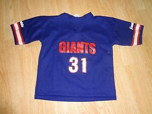 Youth New York Giants #31 M Franklin Jersey