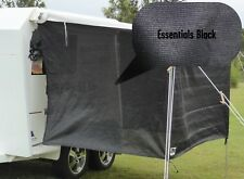 Jayco / Coromal Camper Bagged Bed Flys (both ends) Essentials Black