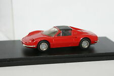 Record 1/43 - Ferrari Dino 246 GTS Rouge 1972