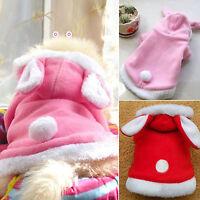 Pet Dog Cat Coat Sweater Clothes Puppy Cute Jumpsuit Hoodie Warm Costume Apparel