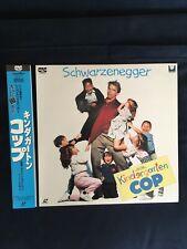 Kindergarten Cop Japanese NTSC LaserDisc LD OBI