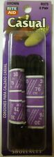 """2 Pair 30"""" Casual Round Shoelaces (Brown) R373 Shoe Lace Dress"""