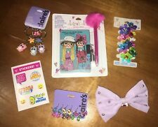Claire's Sister Diary Best Friend Keychain Earrings Hair Justice Stickers Lot