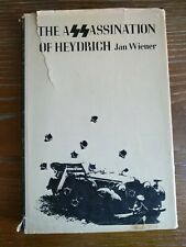 The Assassination of Heydrich by Jan Wiener 1st Printing Hardcover 1969 Book