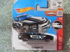 Hot Wheels 2016 #211/250 2010 chevy CAMARO SS police car HW Rescue Case J