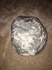 U.S. Armed Forces Helmet Cover Acu Camo Small/Medium Used