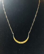 Halskette / Collier Mond Strass