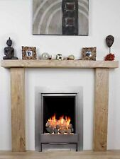 SOLID HARDWOOD OAK BEAM FIRE SURROUND BESPOKE MANTELPIECE FIREPLACE BEST ON EBAY