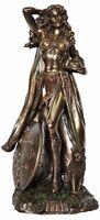 Veronese Bronze Freya Norse Goddess Figurine - Love & Beauty