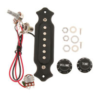 Replacement Electric Guitar Single Coil Pickup Kit with Volume&Tone Knobs