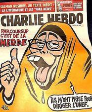 CHARLIE HEBDO n°1348**23/5/2018**SALMAN RUSHDIE=INÉDIT***FAKE NEWS & LITTÉRATURE