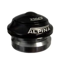 ALPINA 1 1 8 INCH 45 X 45  CAMPAGNOLO FIT  HIDEEN HEADSET   BLACK