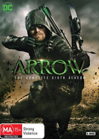Arrow : Season 6 (DVD, 5-Disc Set) NEW
