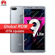 """5.65"""" Huawei Honor 9 Lite impronte ID OctaCore Telefono Sbloccato Cellulare 2SIM"""