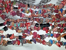 4MM-6MM Natural & Synthetic Mixed Gemstone Chips Spacer Loose Beads App. 260PC