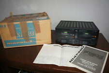 MARANTZ SD553 Stereo Double Cassette Deck high speed dubbing Player Recorder box