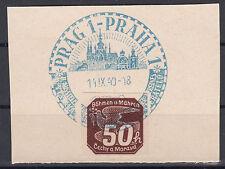 Briefmarken aus Böhmen & Mähren (bis 1945) mit Sonderstempel