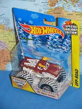 HOT WHEELS MONSTER JAM EL TORO LOCO SPECIAL HOLIDAY EDITION OFF-ROAD *BRAND NEW*