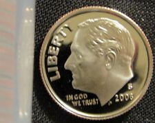 2008-S 10C DC (Proof) Roosevelt Dime