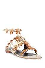 Oscar de la Renta Corinne Embelisshed Sandals Size 7 M