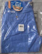 NEW Columbia Men's Bonehead II Shorts - Size 34W x 10L, White Cap, UPF 30