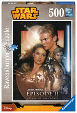 14666 Ravensburger Star Wars 500pc Episode I-vi Attack of The Clones Puzzle