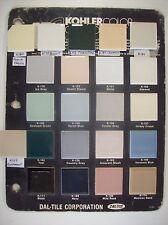 Discontinued Dal Kohler Tile all colors Daltile