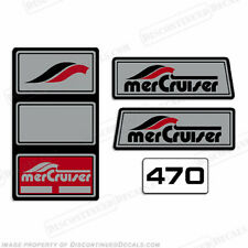 Mercruiser 1965 - 1983 470hp Pre-Alpha Stern Drive Decals