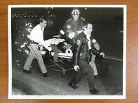 Vintage Glossy Press Photo Natick MA Fatal Car Accident 176 Mill Street 12/19/93