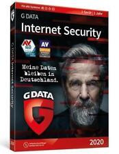 G DATA Internet Security 2020 1PC. Für Windows 7/8/10/MAC/Androd/iOs DVD-ROM
