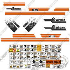 Wirtgen W210 Decal Kit Cold Plainer Sticker Set 7 Year Vinyl (W 210)