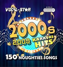 Vocal-Star 00's Hits Karaoke CDG CD G Disc Set 150 Songs for Karaoke Machine a