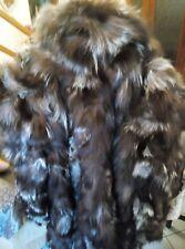 Pelliccia volpe argentata taglia 52
