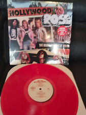 HOLLYWOOD ROSE - The Roots of Guns & Roses RED Vinyl LP Axl / Izzy Rocker